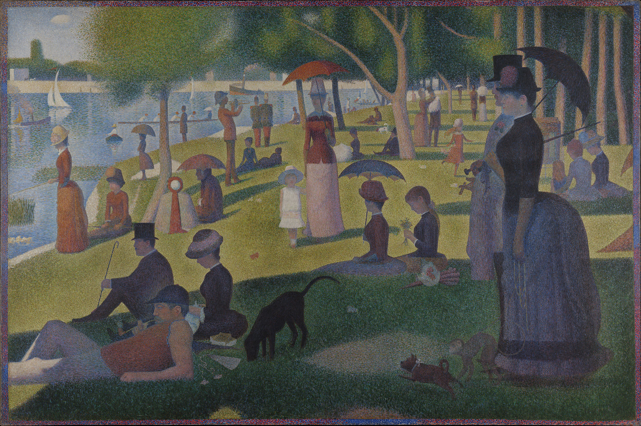 Georges Seurat [Public domain], via Wikimedia Commons